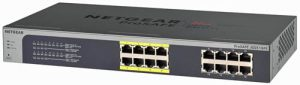 NETGEAR GS108PE-300EUS - 16-Port-Switch mit 8-PoE-Ports