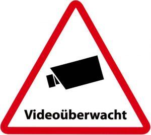Kennzeichnung Videoüberwachung