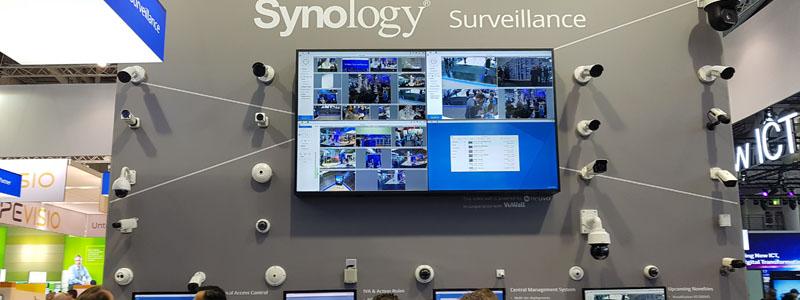 Kamera-Vorführwand von Synology