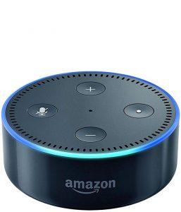 Amazon Echo Dot in schwarz (auch in weiß lieferbar)