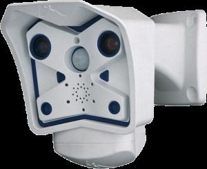 Dual-View Überwachungskamera MOBOTIX M12 mit sehr guter Nachsicht