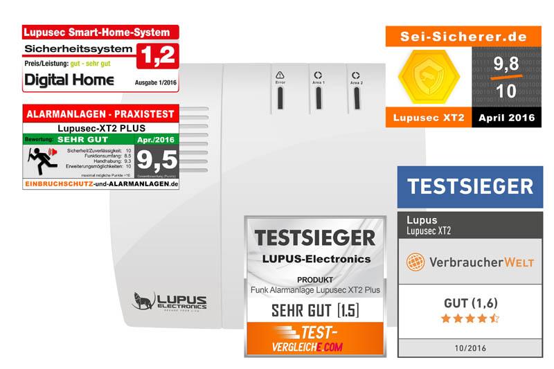 Lupus XT2+ Testergebnisse