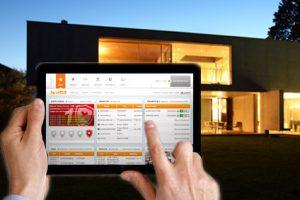 Webinterface mit dem Tablet steuern