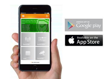 LUPUSEC App – Unterwegs zuhause