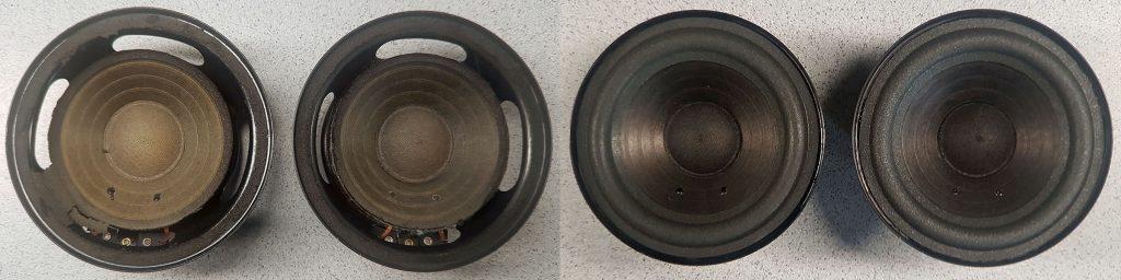 RFT L7102 aus RFT BR25 BR25e BR26 mit aufgelösten Sicken und nach der Reparatur