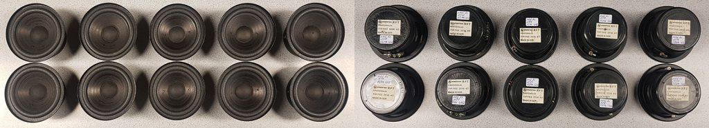 diverse RFT L7102 ausgemessen zum Selektieren