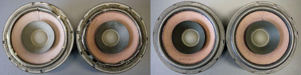 RCF WAS 101 Breitbandlautsprecher mit Schaumstoffsicken
