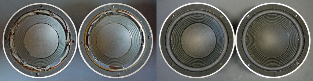 wundervolle 1970er Tieftöner: JBL116A aus JBL4301B Monitoren