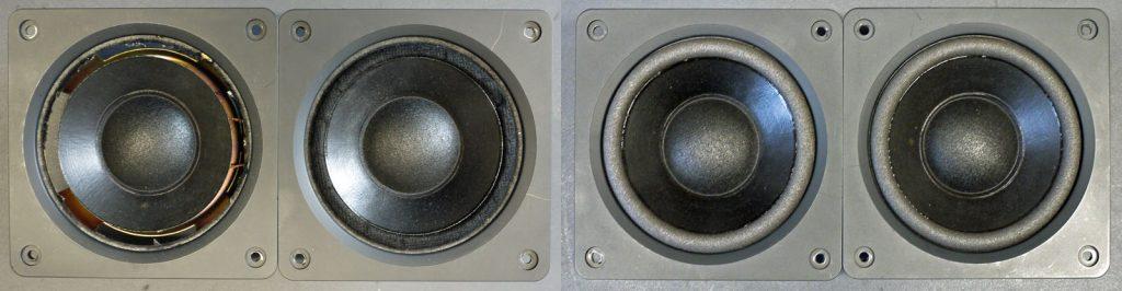 Onkyo MD1241B Mitteltöner aus SC-670 MKII