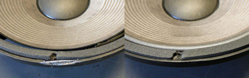 angebrochener Aluminium-Druckguß-Korb
