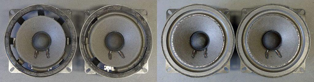 Auto-Einbaulautsprecher von Blaupunkt 863762, aus einem Porsche 964