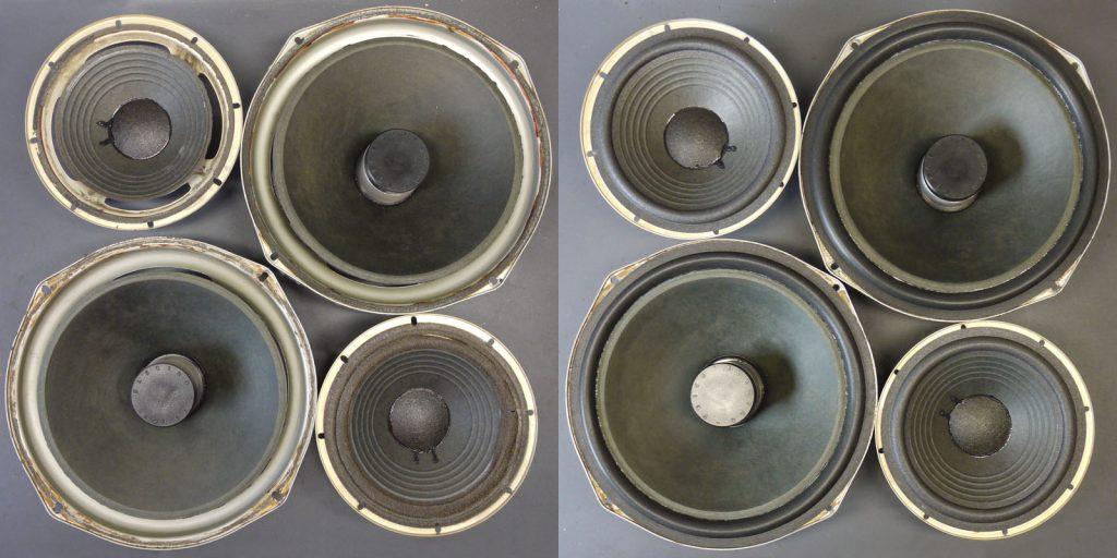 Tieftöner und Passivmembrane aus Electro Voice EV Interface