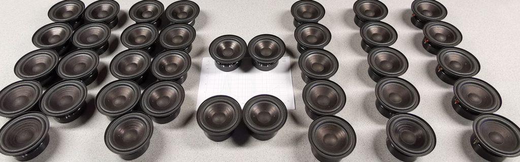 von links nach rechts: L7102 Pins nebeneinander, Pins gegenüber, selektierte L7102-Pärchen, L7113, L7114, L7116