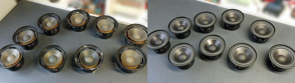 RFT L7102 - L7113 - L7114 - L7116 vor und nach der Reparatur
