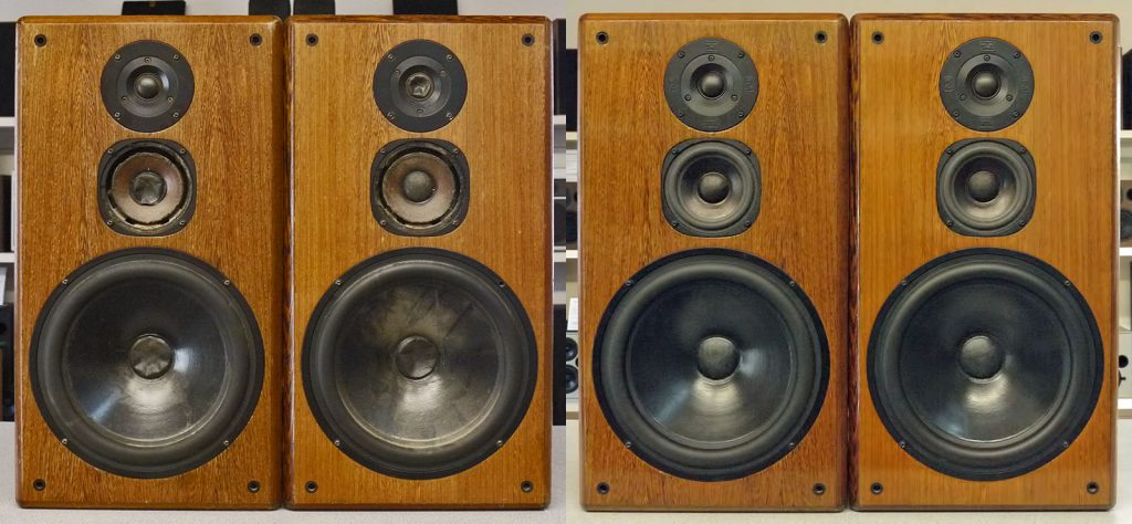T+A Stratos P30 vor und nach der Komplett-Restaurierung