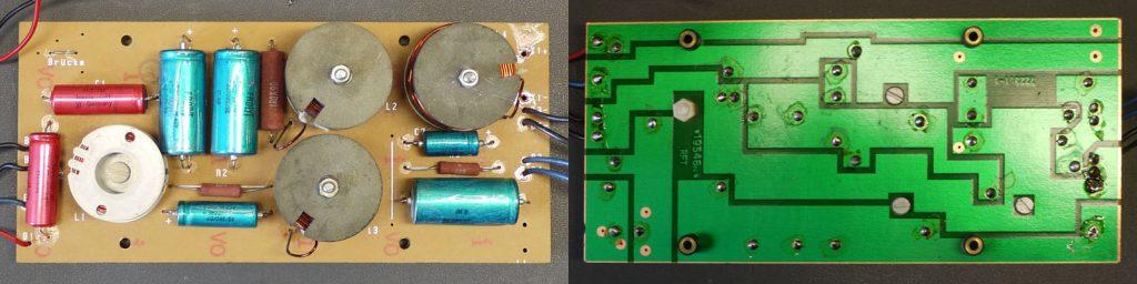 Frequenzweiche aus der RFT BR2725 (letzte-Serie, ohne Glühbirne)