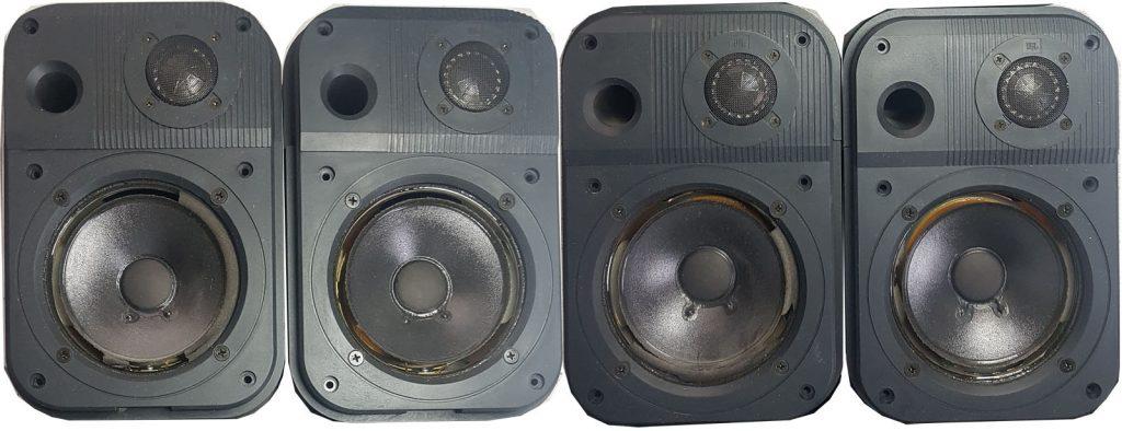 4 Stück JBL Pro III