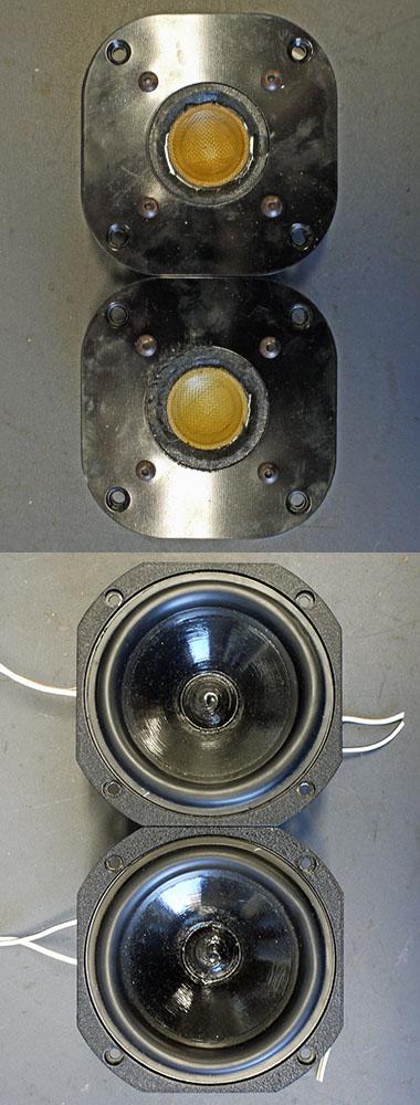 Focal Impression Hochtöner T92K und Tief-Mitteltöner 5N400DB