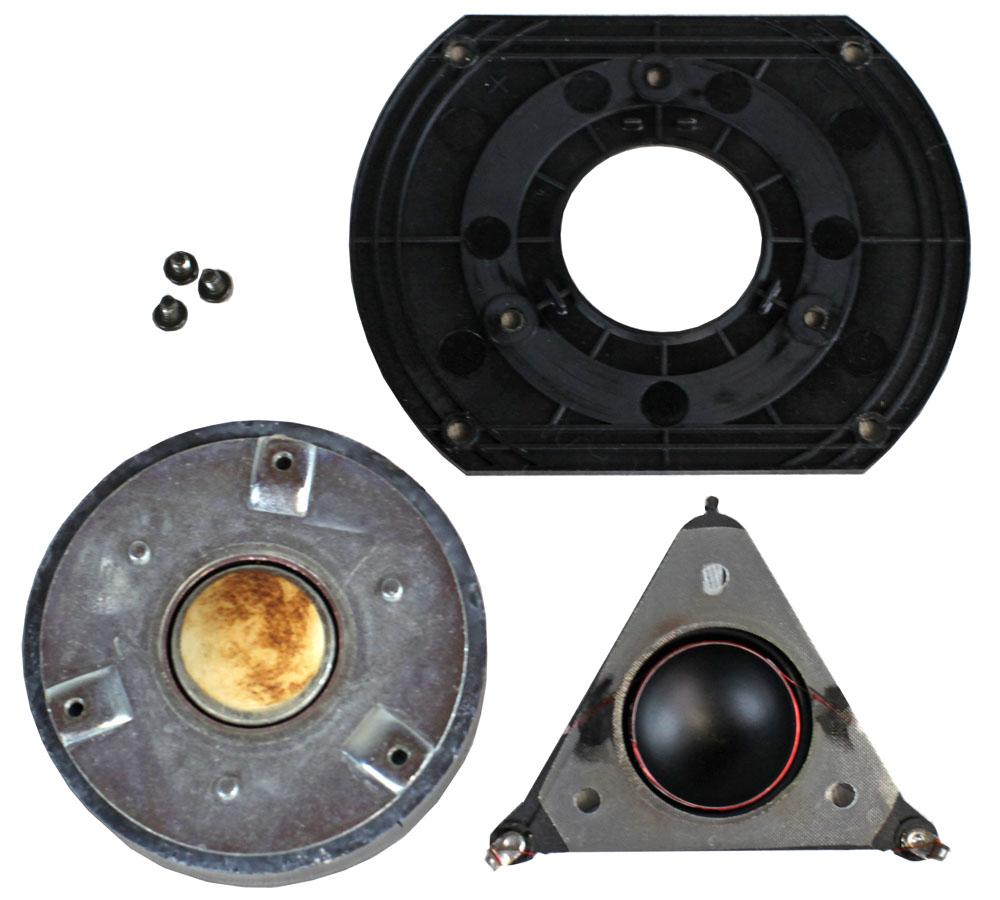 Vifa D25TG-01 Hochtöner mit defekter (durchgebrannter) Spule