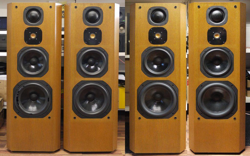 Focal Onyx II, 6x Sicken Erneuerung, Überprüfung der Frequenzweichen und Komplett-Test der Lautsprecher-Boxen