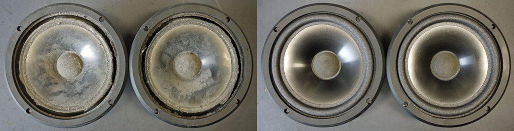 Infinity 902-4165 aus RS3001 kamen in wirklich schlechtem Zustand in die Werkstatt