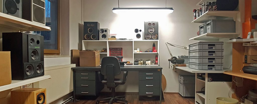 Neef Elektronik Lautsprecher-Werkstatt