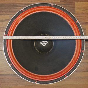 Lautsprecher-Korb außen messen