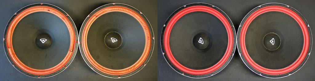 Cerwin Vega 152WR 15 Zoll PA Speaker mit neuen roten Sicken
