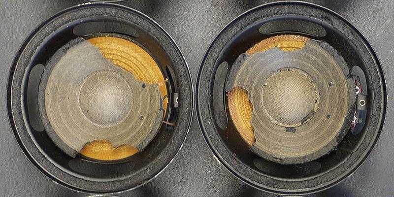 RFL L7114 mit teilweise fehlender Membrane vorher