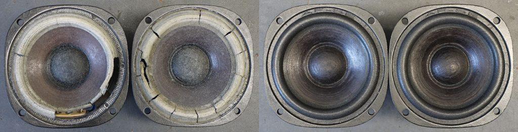 SEAS 11F/M mit neuen Sicken und aufgefrischten Membranen