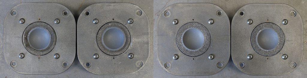 Focal TC 90 TDX mit defekten Sicken und einer eingedrückten Membrane