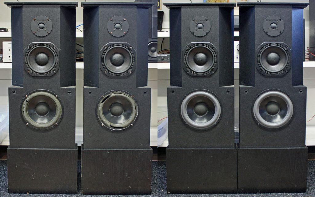SD Acoustics OBS: neue Dr.-Kurt-Müller-Sicken wurden verbaut, Mitteltöner vermessen und das verhärtete Ferrofluid der Hochtöner wurde entfernt