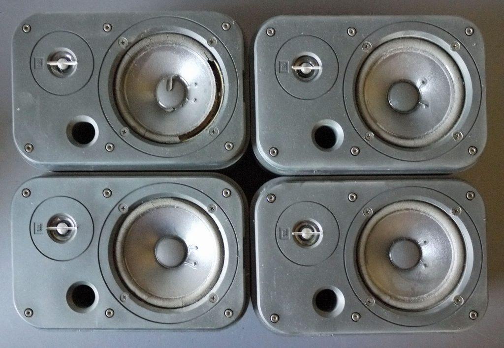 4x JBL Control 1 mit defekten Sicken