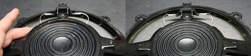 Bose Türlautsprecher aus einer Corvette