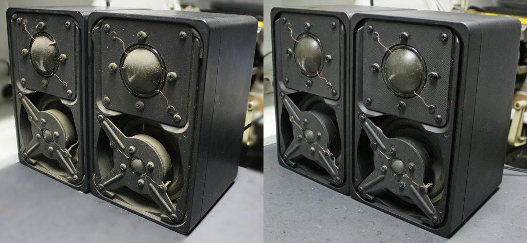 Braun L 300 Mini-3-Wege-Boxen