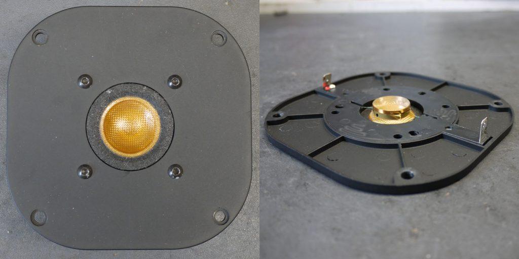 Focal TC120K2 mit verbogenem Schwingspulenträger, konnte wieder gerichtet werden OHNE neue Schwingspule