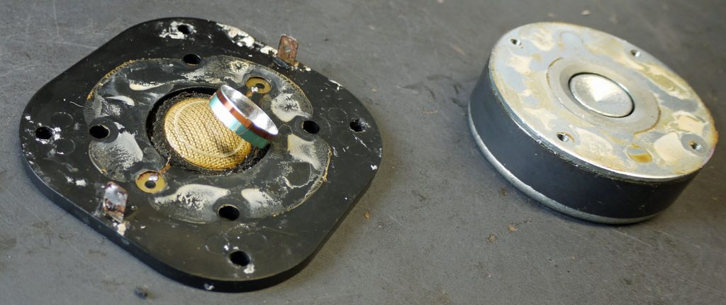Focal TC92 mit abgerissener Schwingspule