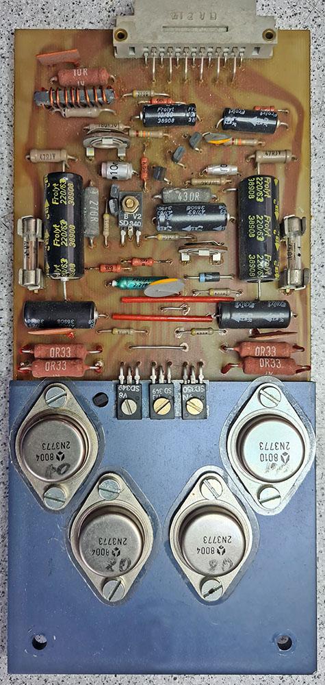 ME Geithain RL 900 Tiefton-Verstärker-Platine