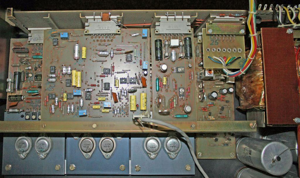 ME Geithain RL 900 Verstärker-Platinen und Netzteil